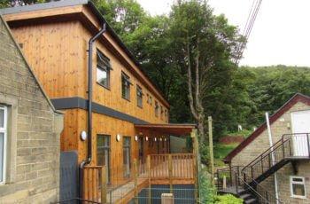 bridge timber 2 storey eco classroom