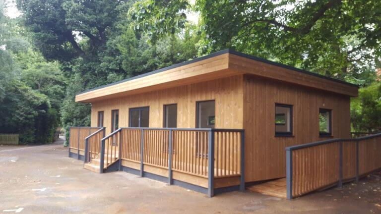 Bullers Wood School Modular Classroom