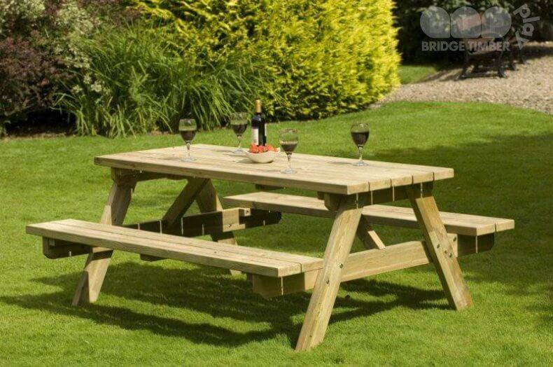 140cm A Frame Picnic Table