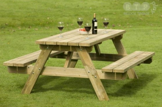180cm A Frame Picnic Table