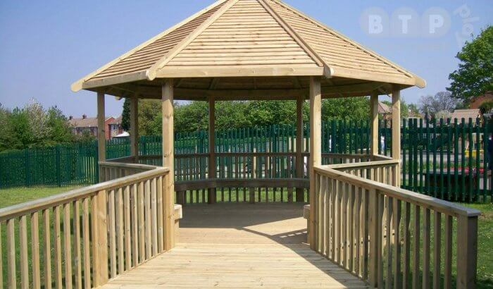 Outdoor Playground Shelters