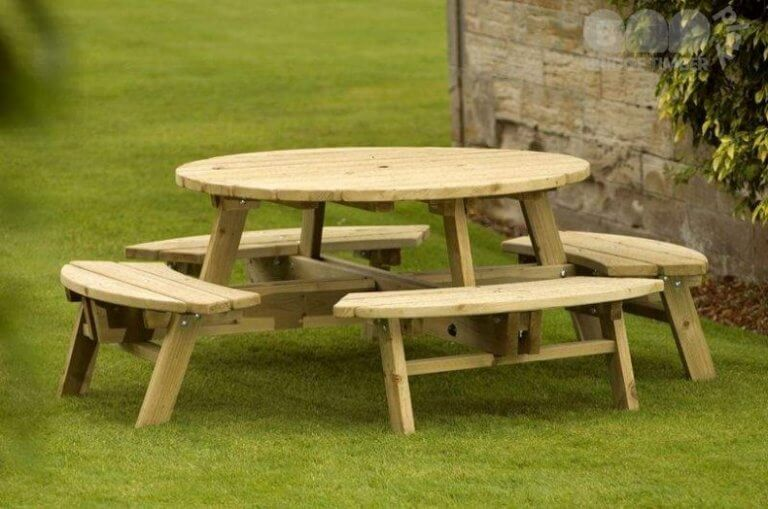 Timber Picnic Tables & Benches