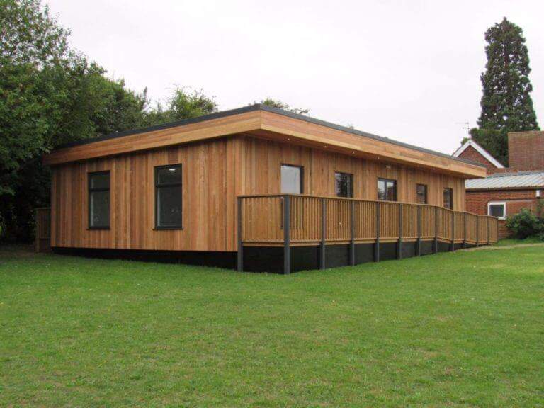 Knowl Hill C of E Academy Eco Modular Classroom Installation