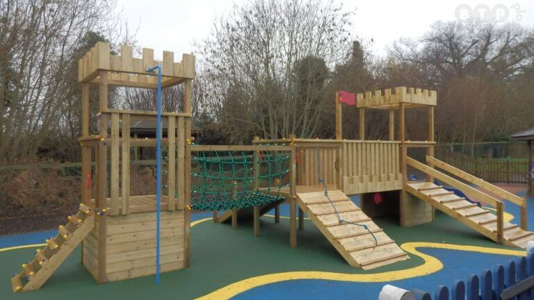 Timber Play Castle Case Study
