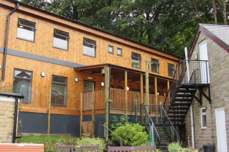 Double Storey Eco-Classroom Todmorden C of E School