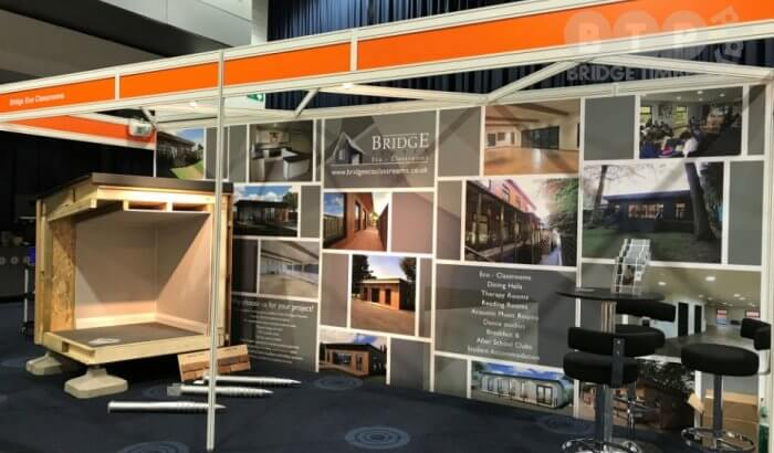 Bridge Timber Exhibits at Education Estates 2017