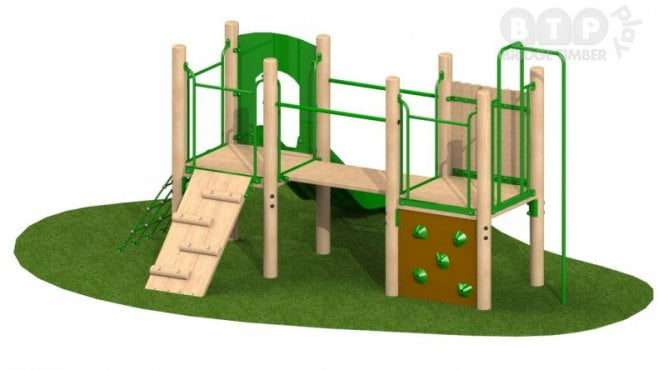 Double Deck Play Tower