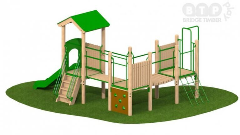 Triple Deck Play Tower