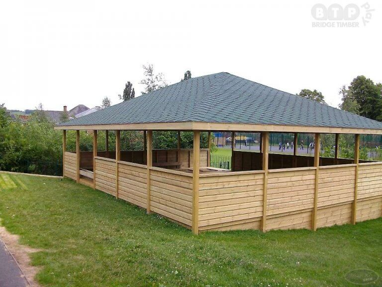 Traditional School Outdoor Shelter