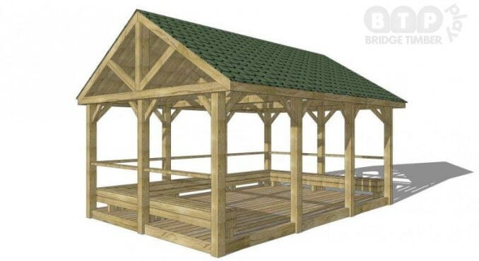 Apex Playground Shelter