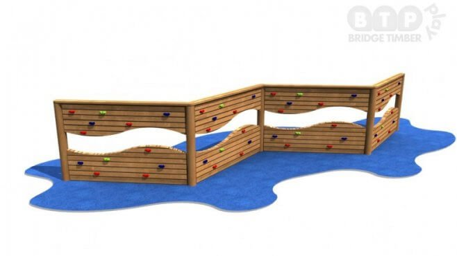 4 Section Climbing Wall