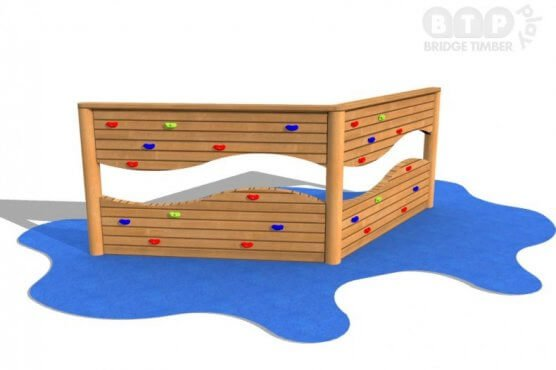 2 Section Climbing Wall