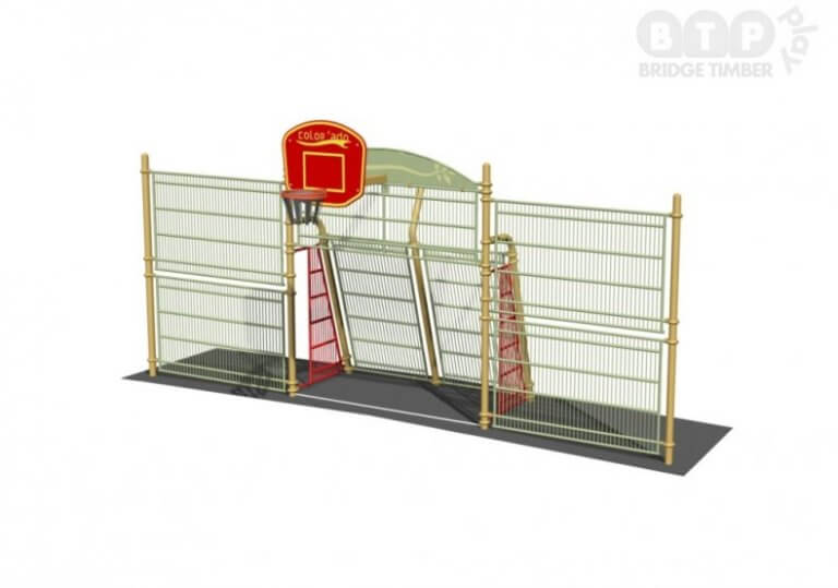 Goal End with Rebound Walls