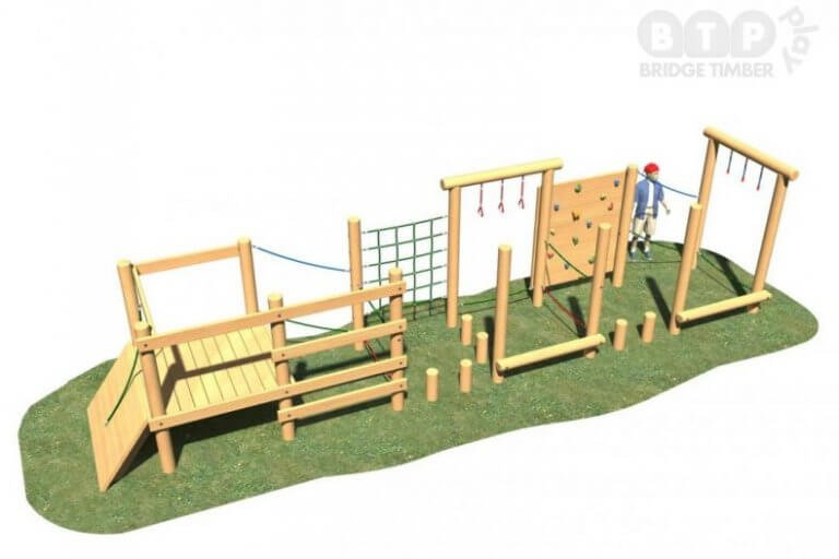 Long Rectangular Play System
