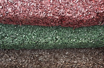 Bonded Rubber Mulch