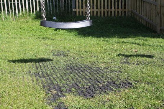 Safer Grass Matting