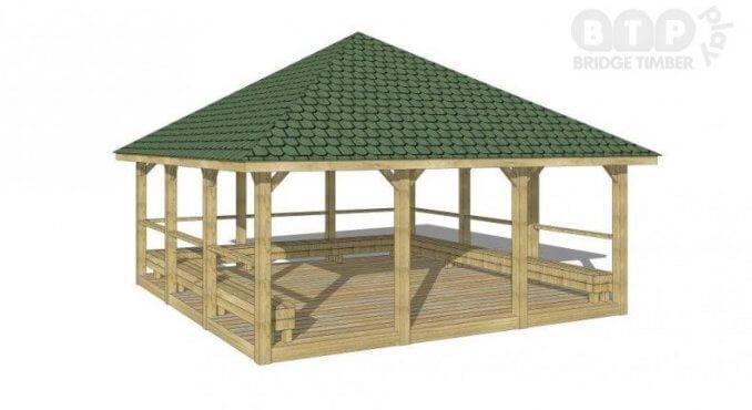 Pyramid Pavilion Shelter