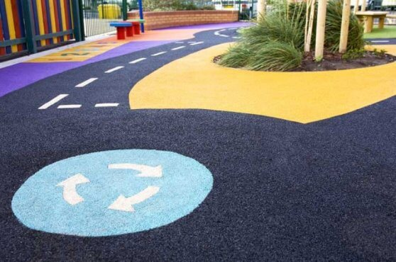 Wet Pour Safety Flooring